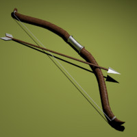 3d bow arrow