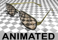 obj realistic sunglasses