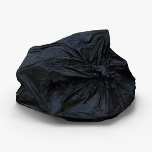 bin bag 3d model