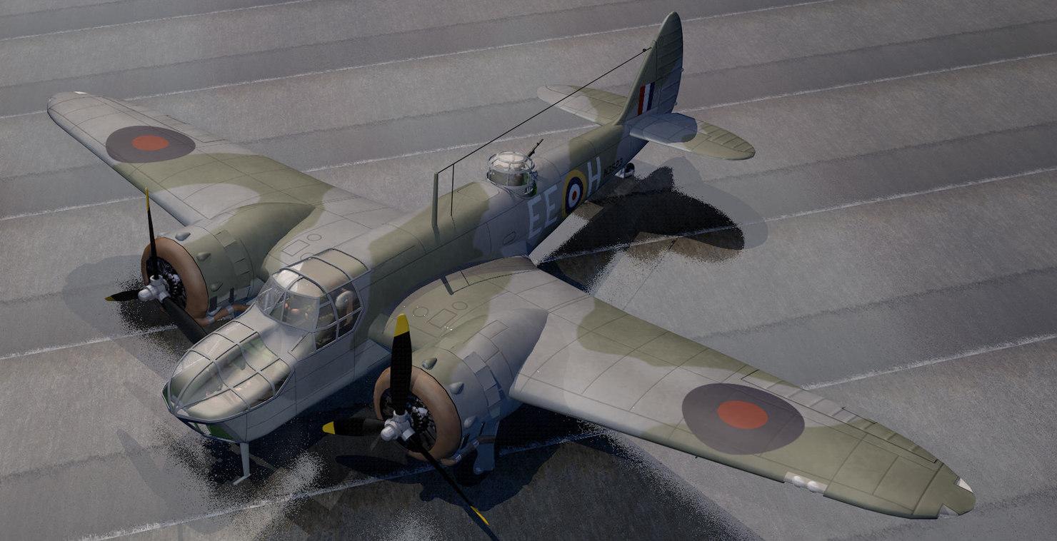 3d plane bristol bolingbroke mk-4f