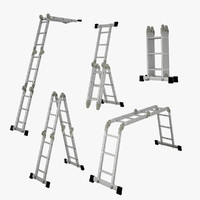 3d model transformation ladder set
