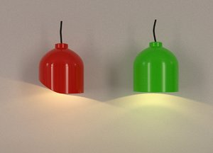 blender lamps 3d model