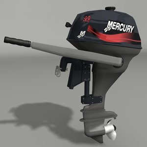 3d 3ds outboard engine