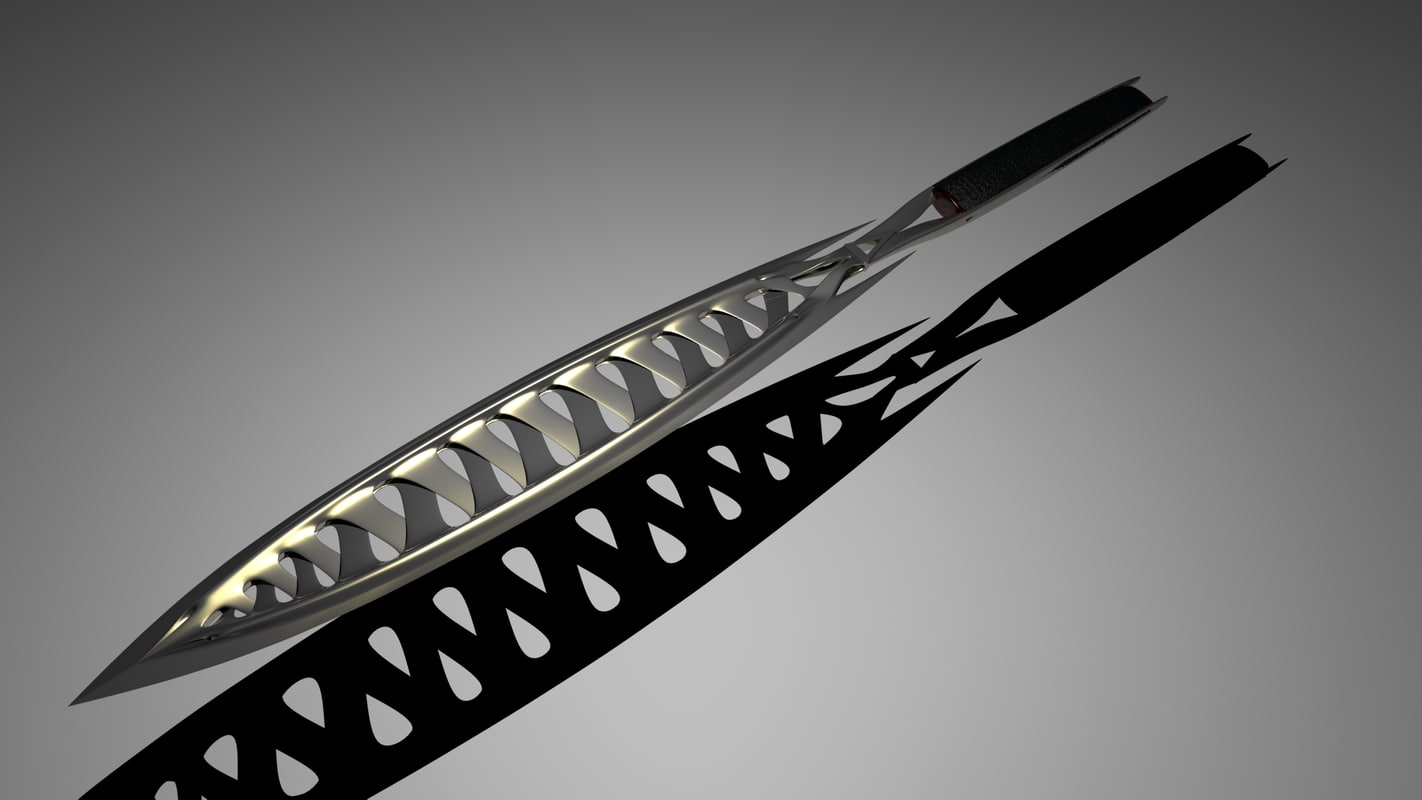 3d fantasy sword model