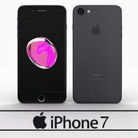 3d model of apple iphone 7