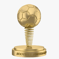 3d max football award cup