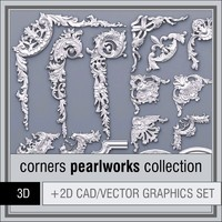 3d model 1d pearlworks corners