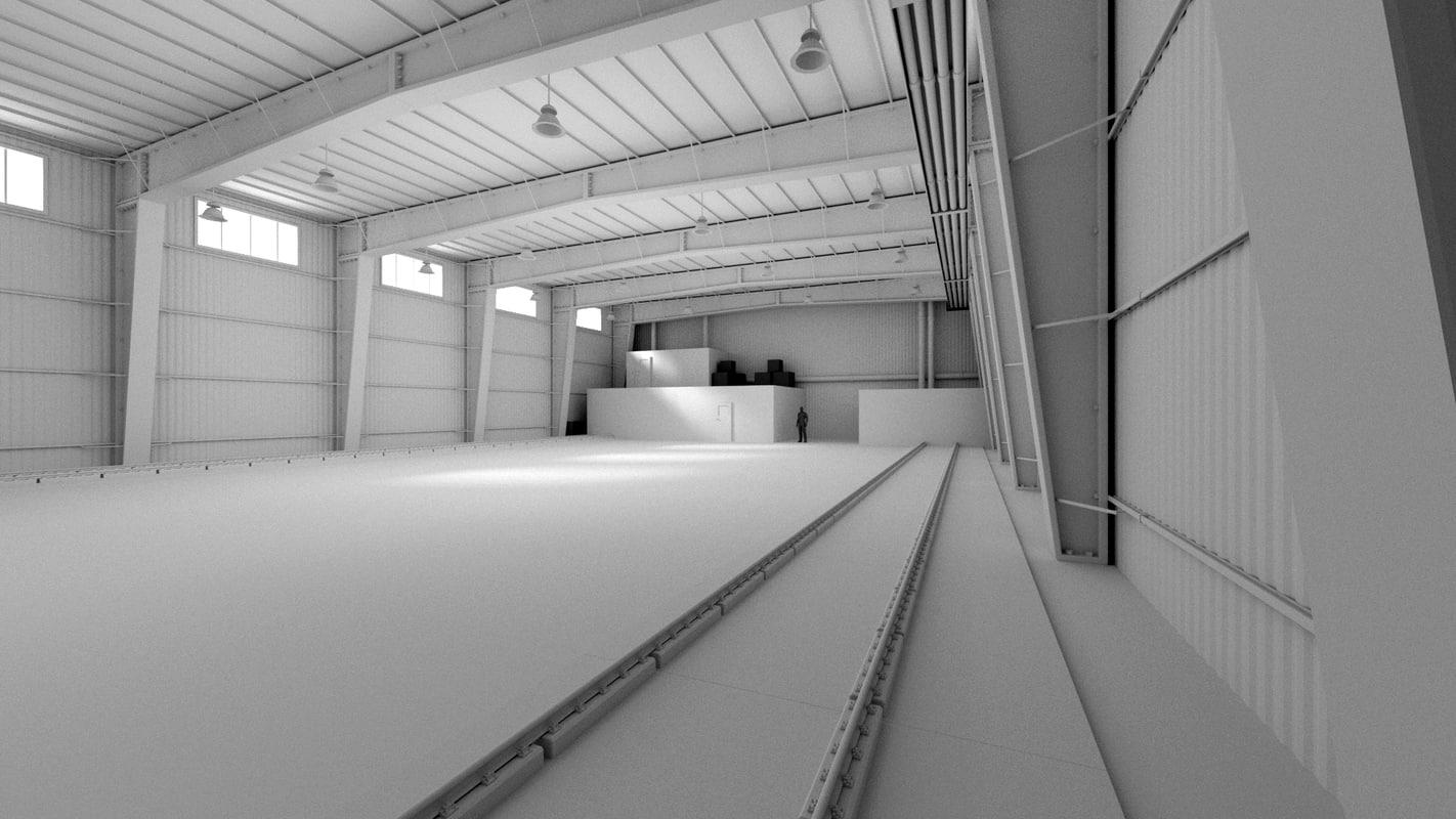 3d model modular interior texturing