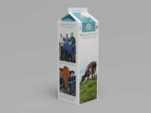 obj milk carton tine melk