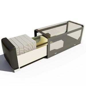 3d dispenser napkins table model