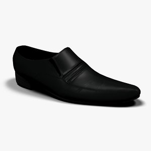 3d shoes male model