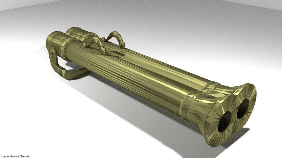 belala gajah cannon 3d 3ds
