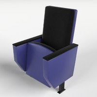 3ds theater armchair