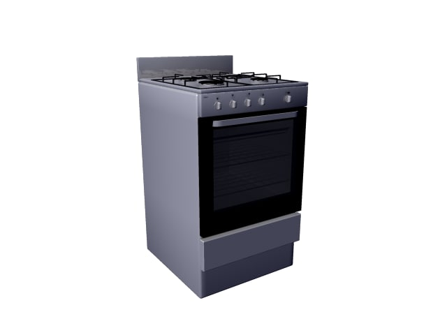 oven gas 3d model