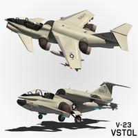 3d model vstol concept