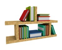 c4d books bookshelf minecraft