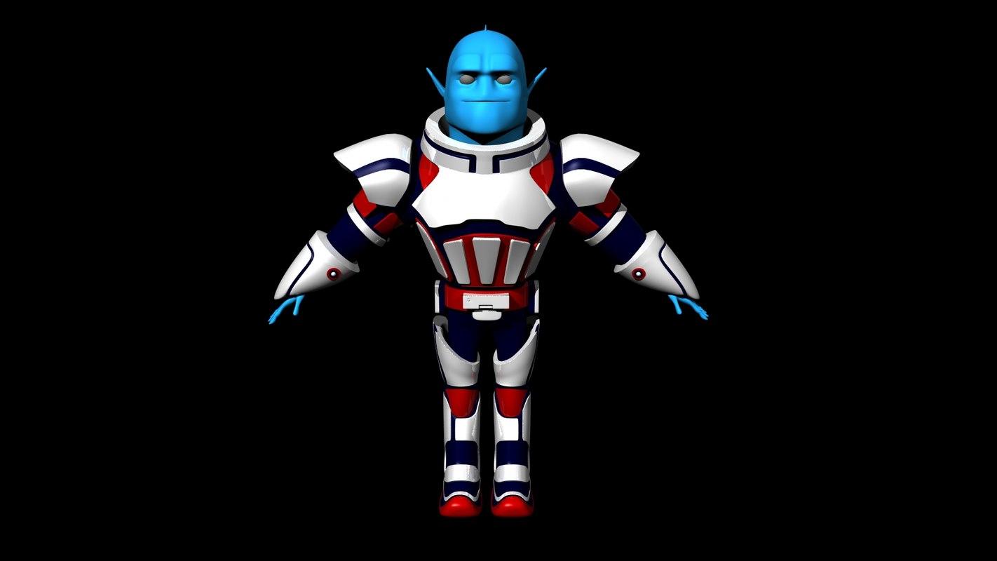 free alien movie 3d model