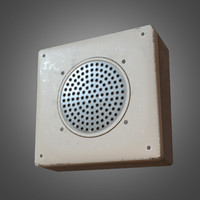 intercom - pbr ready 3d obj