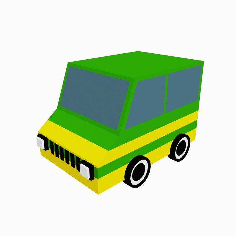 3d car color