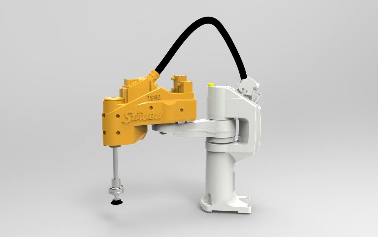 3d scara robot model