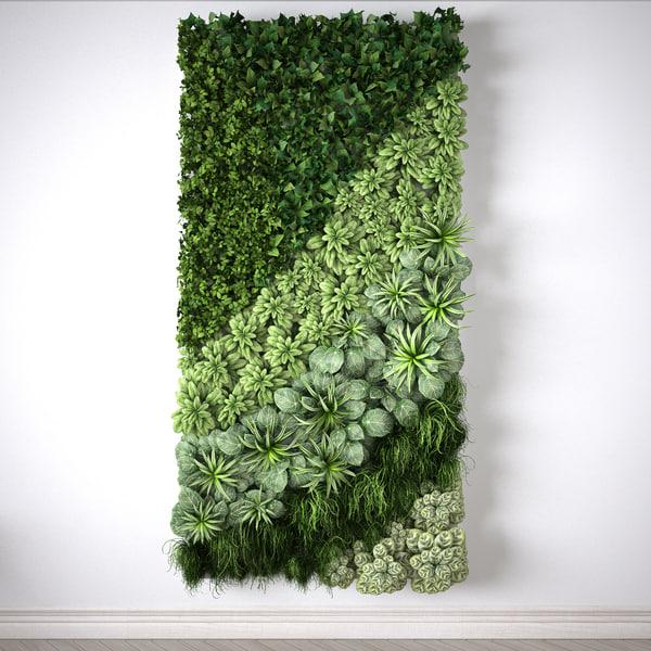 3d vertical garden meters modul
