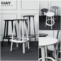 3d revolver stool hay model