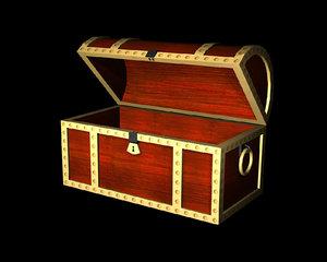 pirate s treasure chest 3d x