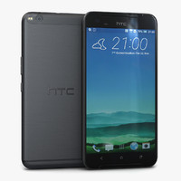3d htc x9 carbon gray