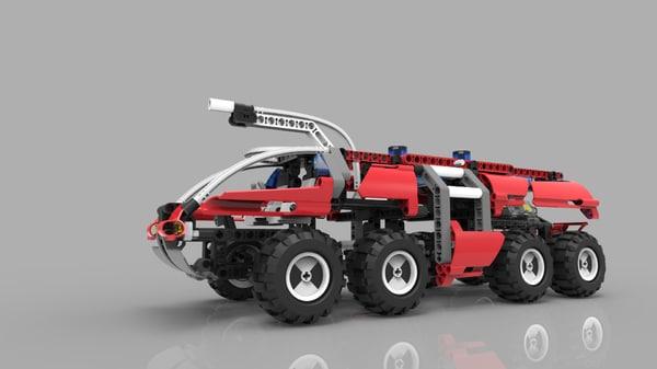 lego technic 8454 3ds