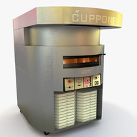 cuppone pizza oven 3d model