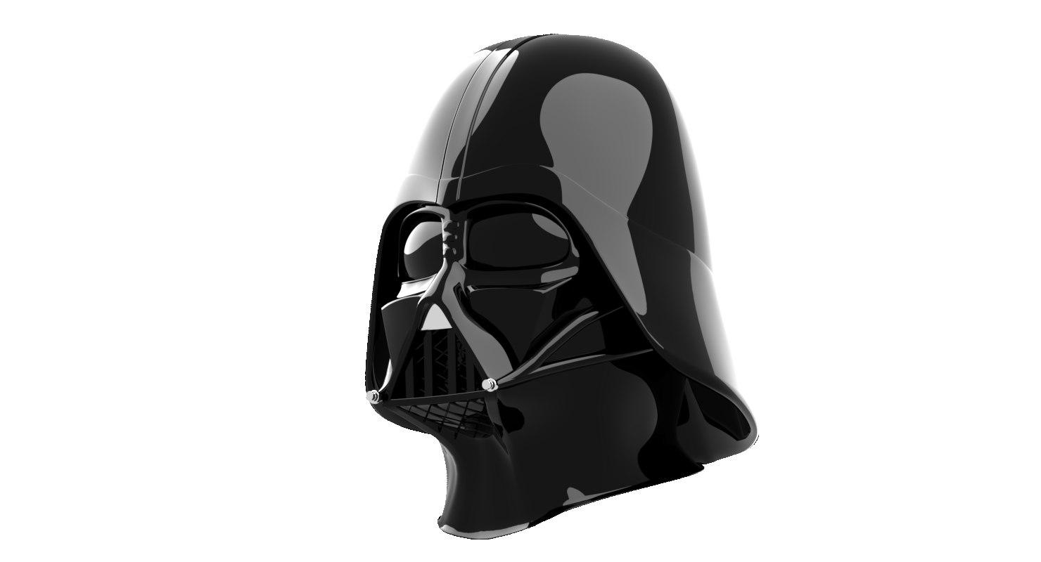 3d darth vader helmet model