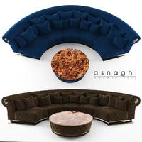 3d max sofa asnaghi prestige