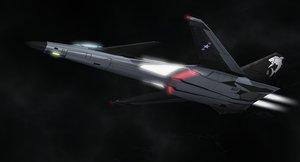 free fa-59a mako 3d model