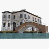 3d model real-time venice bridge