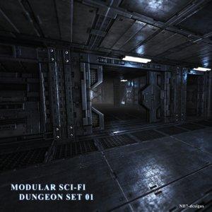 modular dungeon set 3ds
