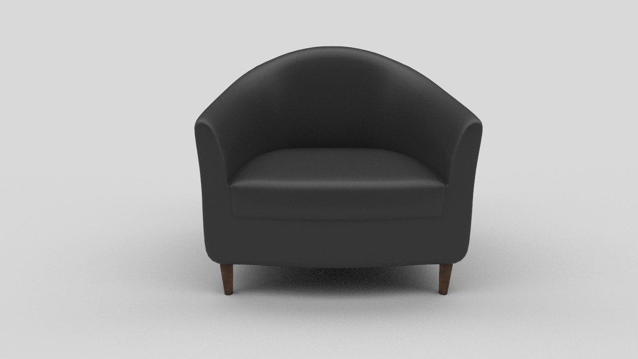3d ikea tullsta chair seat