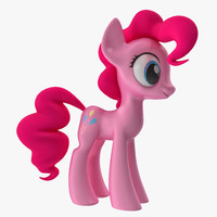3d little pony pinkie pie model