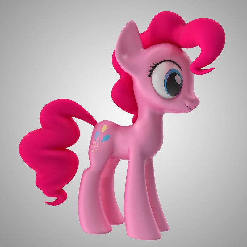 3d little pony pinkie pie model