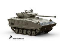 amx-10 pac 90 3d model
