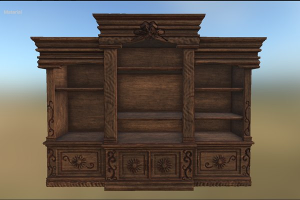 free obj mode victorian entertainment center