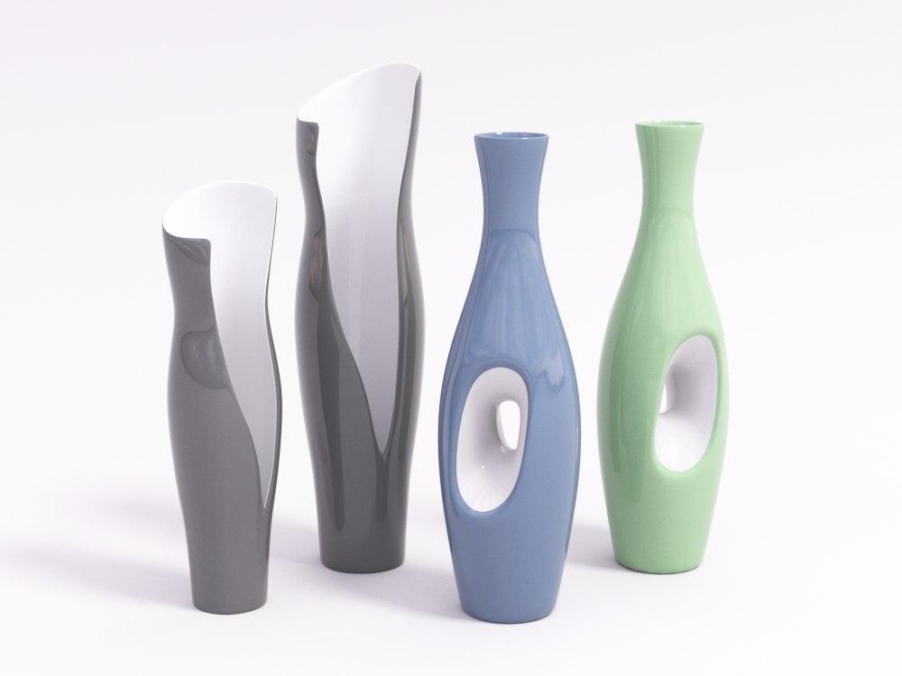3d model of vase decor