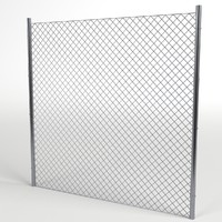 wire fence module 3ds