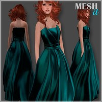 gown green 3ds