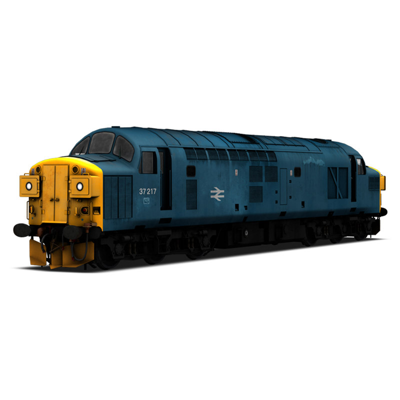 3d class 37 locomotive model