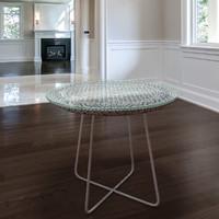 Rattan woven Table