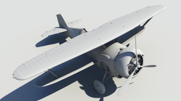 3d bf2c-1 hawk iii model