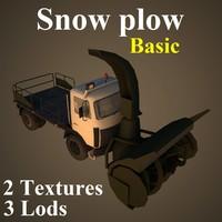 snow basic 3d max