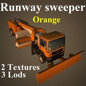 3d model of runway ora