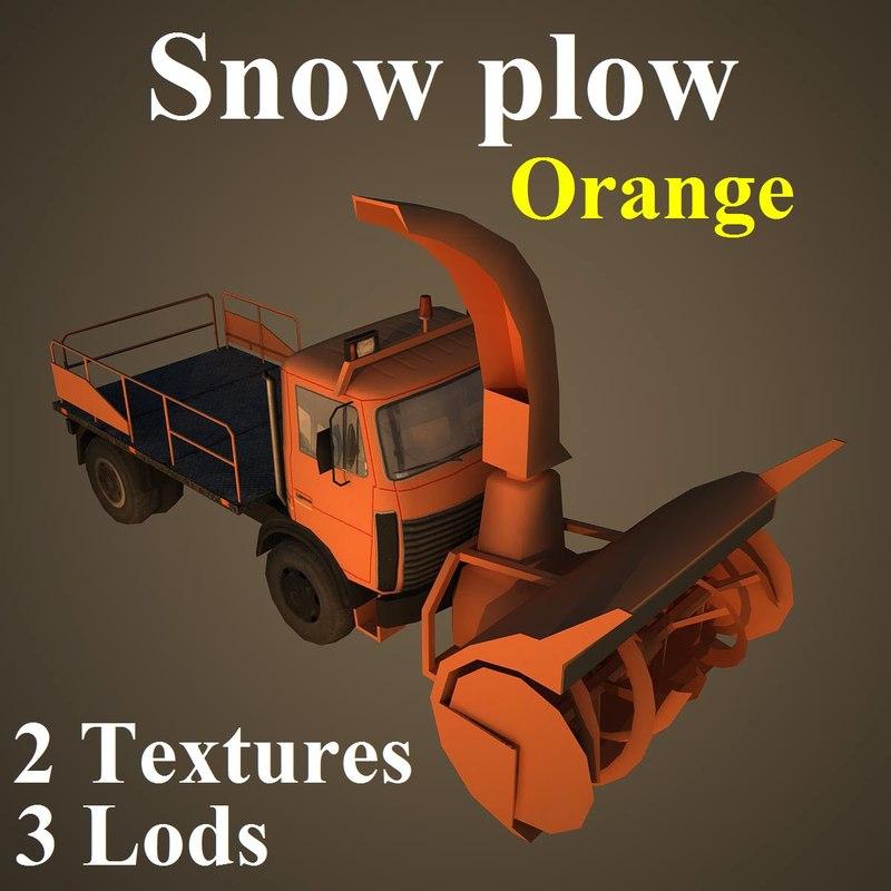 snow ora 3d model
