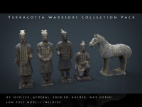 Terracotta Warriors Collection Pack